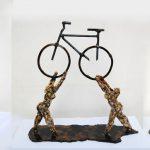 Randy Klein sculpture